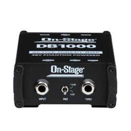On-Stage DB1000 Active Direct Box