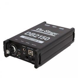 On-Stage DB2150 Stereo USB DI Box