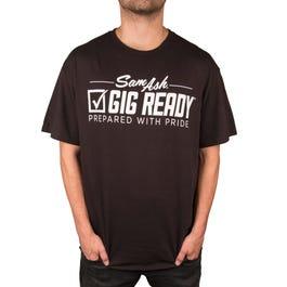 Image for Men's Gig Ready Black T-Shirt from SamAsh