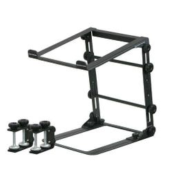 Image for LSTANDM Mobile Folding Laptop Stand with Table/Case Clamps from SamAsh
