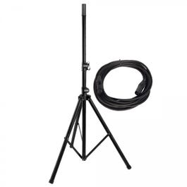 Image for Classic Speaker Stand and 20' XLR Cable from SamAsh