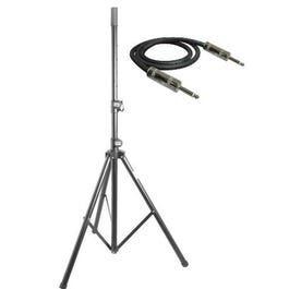 """Image for Classic Speaker Stand and 14-Gauge ¼"""" Cable from SamAsh"""