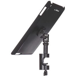 On-Stage TCM9161B iPad Snap-On Cover with Round Clamp, Black