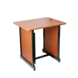 Image for WSR7500RB Workstation Rack Stand (Rosewood and Black) from SamAsh