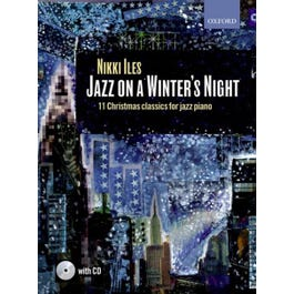 CF Peters Iles-Jazz on a Winter's Night (book and CD)Book 1