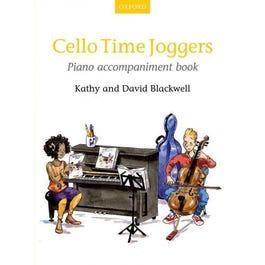CF Peters Cello Time Joggers Piano Accompaniment Book