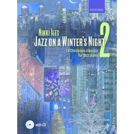 CF Peters Iles-Jazz on a Winter's Night (book and CD)Book 2