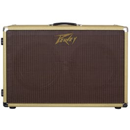 "Peavey 212-C 2x12"" Guitar Speaker Cabinet with Tweed Tolex Covering"