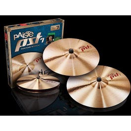"""Paiste PST7 Series Heavy/Rock Cymbal Pack - 14""""/16""""/20"""""""
