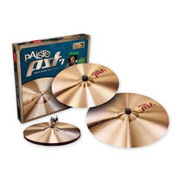 """Paiste PST7 Series Light/Session Cymbal Pack - 14""""/16""""/20"""""""