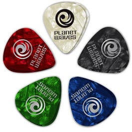 Image for Assorted Pearl Celluloid Guitar Picks