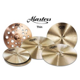 """Image for Masters Thin Cymbal Set Extended with Free 18"""" PSTX Swiss Thin Crash (Restock) from Sam Ash"""
