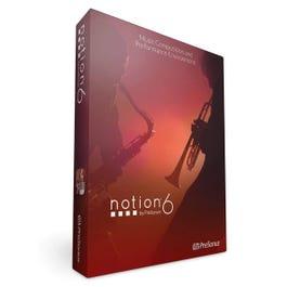 Presonus NOTION 6 (Boxed Full Version License)