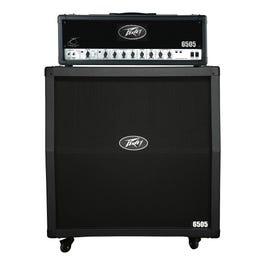 "Image for 6505 Half Stack 6505 120 Watt Guitar Amplifier Head with 6505 412 4x12"" Slant Guitar Speaker Cabinet from SamAsh"