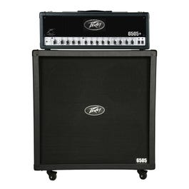 """Image for 6505+ Half Stack 6505+ 120 Watt Guitar Amplifier Head with 6505 4x12"""" Straight Guitar Speaker Cabinet from SamAsh"""
