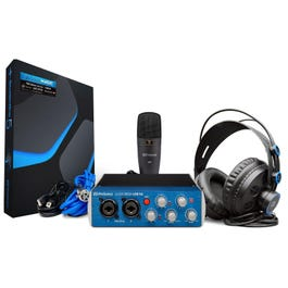 Image for Audiobox 96 Studio Audio Interface/Recording Bundle from SamAsh