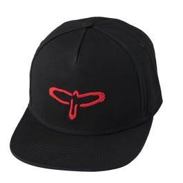 PRS Bird Logo Flat Bill Baseball Cap, Red