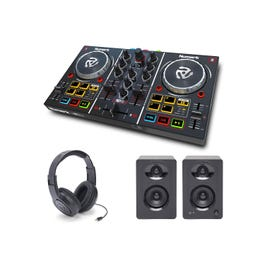 Image for Party Mix DJ Controller with Monitors and Headphones from SamAsh