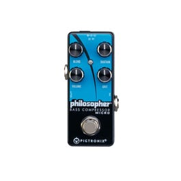 Image for BCM Philosopher Bass Compressor Micro Bass Effects Pedal from SamAsh