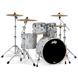 Image for Concept Maple 5-Piece Drum Shell Pack (White Moire, Finishply) from SamAsh