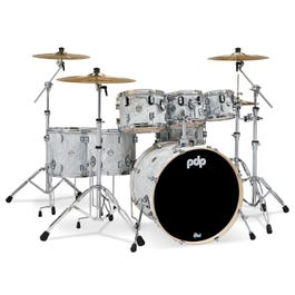 Image for Concept Maple 7-Piece Drum Shell Pack - White Moire from SamAsh
