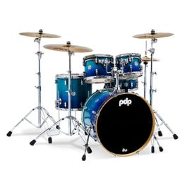 Image for Concept Maple Series 5-Piece Drum Shell Pack - Gloss Blue Fade from SamAsh
