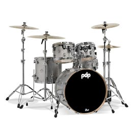 Image for Concept Maple Series 5-Piece Drum Shell Pack - Silver Sparkle from SamAsh