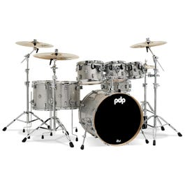 Image for Concept Maple 7-Piece Drum Shell Pack - Silver Sparkle from SamAsh