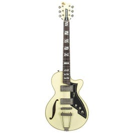 Image for Retromatic 131 Semi-Hollow Body Electric Guitar Ivory (Open Box) from SamAsh