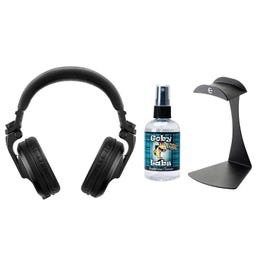 Image for HDJ-X5 Over-Ear DJ Headphones with Stand and Cleaner from SamAsh
