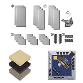 Image for Broadway London 12-a Complete Room Acoustic Treatment Kit (Assorted Colors) from SamAsh