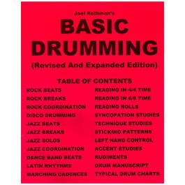 Image for Joel Rothman Basic Drumming (Revised and Expanded) from SamAsh