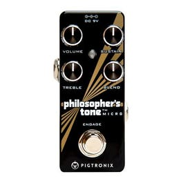 Image for Philosopher's Tone Micro Compressor Effect Pedal from SamAsh