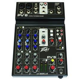 Peavey PV 6 Mixer