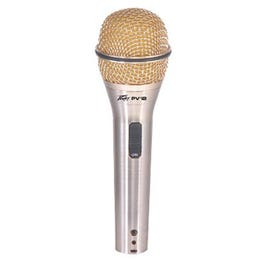 Image for PVi2G Gold Dynamic Microphone (On/Off Switch) from SamAsh