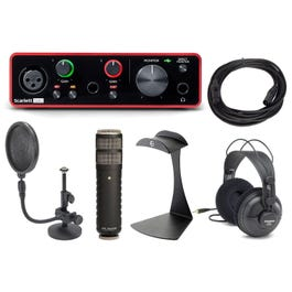 Image for Scarlett Solo 3rd Gen Audio Interface with Microphone and Accessories from SamAsh