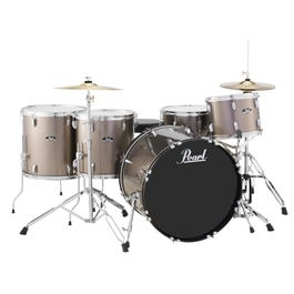 Image for Roadshow RS525WFC 5-Piece Drum Set w/ Hardware & Cymbals (Bronze Metallic) from SamAsh