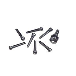 Image for Bridge Pins (Black) (Set of 6) from SamAsh