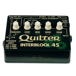 Image for InterBlock 45 45-Watt Guitar Amplifier/Preamp Pedal from SamAsh
