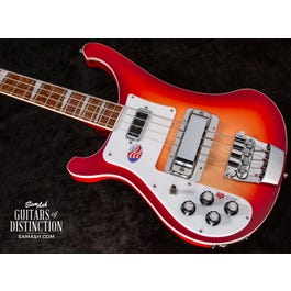 Image for 4003 Left-Handed Electric Bass Guitar Fireglo from SamAsh