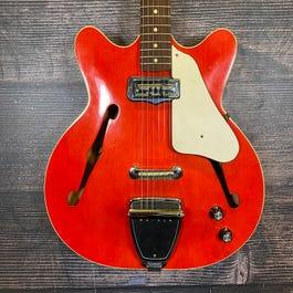 Fender 1966 Coronado I Electric Guitar (Candy Apple Red)