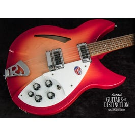 Image for 330/12 12-String Semi-Hollow Body Electric Guitar Fireglo from SamAsh