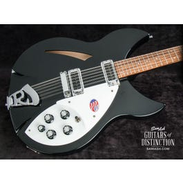 Image for 330/12 12-String Semi-Hollow Body Electric Guitar Jetglo from SamAsh