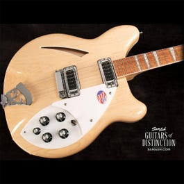 Image for 360 Semi-Hollow Body Electric Guitar Mapleglo from SamAsh