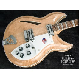 Image for 381/12V69 Semi-Hollow Body 12-String Electric Guitar Mapleglo from SamAsh