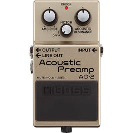 Image for AD-2 Acoustic Guitar Preamp Pedal from SamAsh