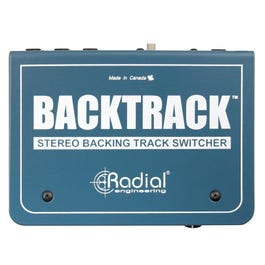 Radial Backtrack Stereo Backing Track Audio Switcher