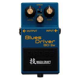 Boss BD-2W Blues Driver Waza Craft Special Edition Overdrive Guitar Effects Pedal