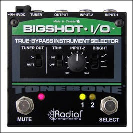 Image for BigShot i/o True Bypass Instrument Selector from SamAsh