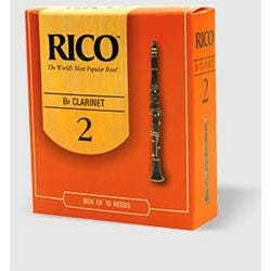 Image for Rico Bb Clarinet Reeds (Box of 10) from SamAsh